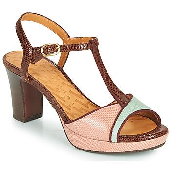 Sapatos Mulher Sandálias Chie Mihara NATI Castanho / Rosa / Verde