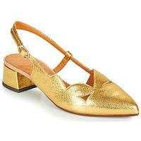 Sapatos Mulher Escarpim Chie Mihara R-RUNE Ouro
