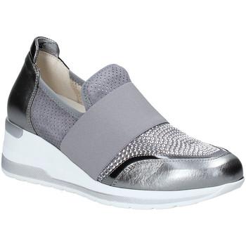 Sapatos Mulher Slip on Melluso R20413 Prata