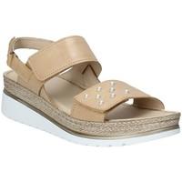 Sapatos Mulher Sandálias Melluso 019080F Castanho