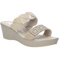 Sapatos Mulher Chinelos Susimoda 1440-01 Bege