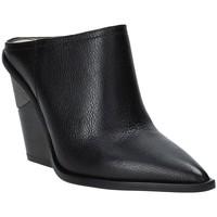 Sapatos Mulher Tamancos Studio Italia LOLITA Preto