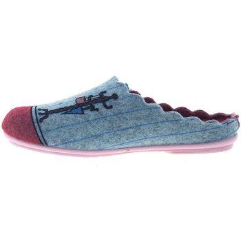 Sapatos Mulher Chinelos Marpen Zapatillas de Casa  Habitación Cinza