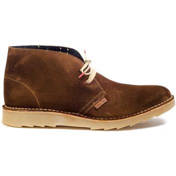 Sapatos Homem Botas baixas Colour Feet CLARK KIM Castanho