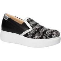 Sapatos Mulher Slip on Exton E02 Preto