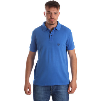 Textil Homem Polos mangas curta Gaudi 911BU64063 Azul