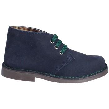 Sapatos Criança Botas baixas Grunland PO0577 Azul