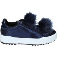 Sapatos Mulher Slip on Apepazza HYB04 Azul