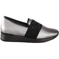 Sapatos Mulher Slip on Melluso R25017P Cinzento