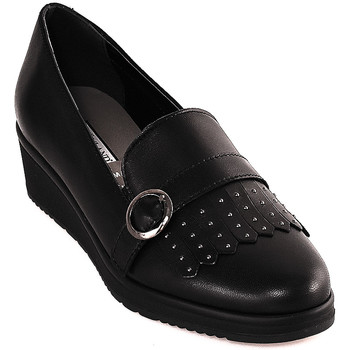 Sapatos Mulher Mocassins Grunland SC3141 Preto
