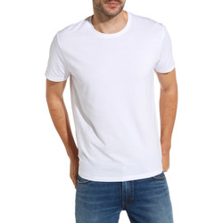 Textil Homem T-Shirt mangas curtas Wrangler W7500F Branco