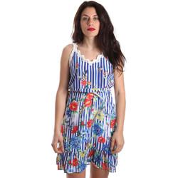 Textil Mulher Vestidos curtos Fracomina FR19SP563 Azul
