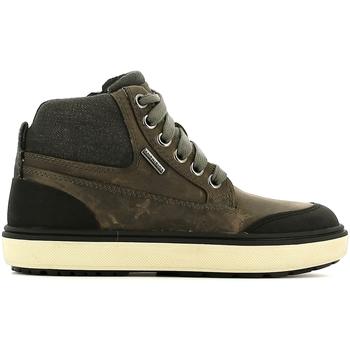 Sapatos Criança Sapatilhas de cano-alto Geox J540DC 045CQ Cinzento