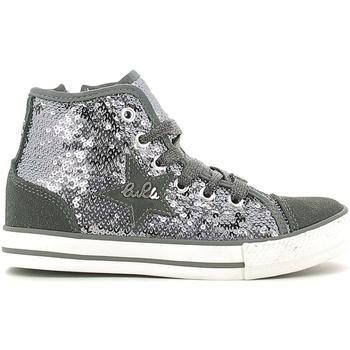 Sapatos Criança Sapatilhas de cano-alto Lulu LV010070T Cinzento
