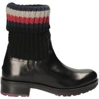 Sapatos Mulher Botins Tommy Hilfiger FW0FW02018 Preto
