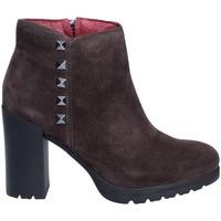Sapatos Mulher Botins Stonefly 210200 Cinzento