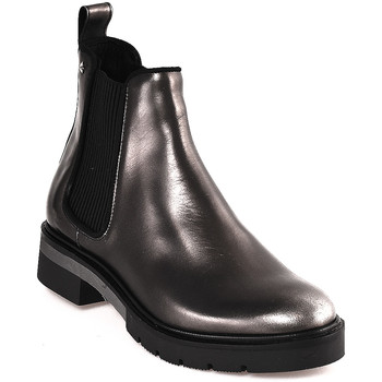 Sapatos Mulher Botins Tommy Hilfiger FW0FW03061 Cinzento