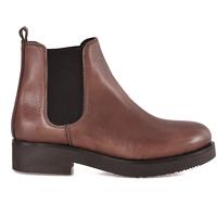 Sapatos Mulher Botins Mally 5535 Castanho