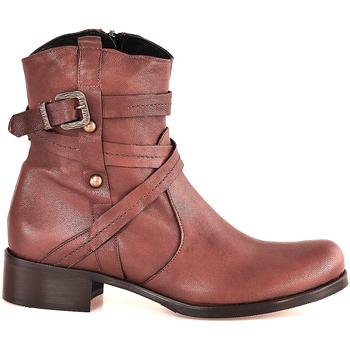 Sapatos Mulher Botins Mally 6431 Castanho