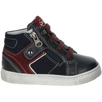 Sapatos Criança Sapatilhas de cano-alto NeroGiardini A823210M Azul