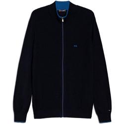 Textil Homem Casacos de malha NeroGiardini E074560U Azul