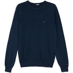 Textil Homem camisolas NeroGiardini E074600U Azul