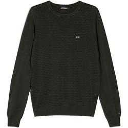 Textil Homem camisolas NeroGiardini E074600U Verde