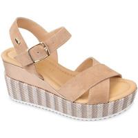 Sapatos Mulher Sandálias Valleverde 32435 Bege