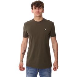Textil Homem T-Shirt mangas curtas Antony Morato MMKS01737 FA120022 Verde