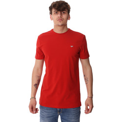 Textil Homem T-Shirt mangas curtas Antony Morato MMKS01737 FA120022 Vermelho