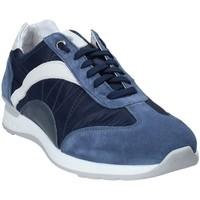 Sapatos Homem Sapatilhas Exton 661 Azul