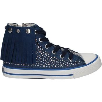 Sapatos Criança Sapatilhas de cano-alto Lulu LV010074T Azul