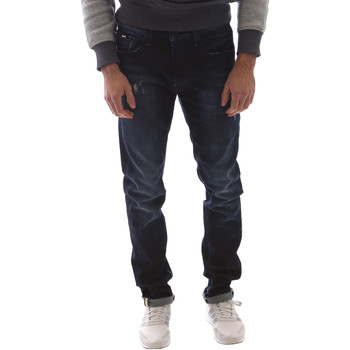 Textil Homem Calças de ganga slim Gas 351144 Azul