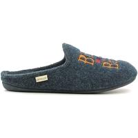 Sapatos Homem Chinelos Grunland CI1073 Azul