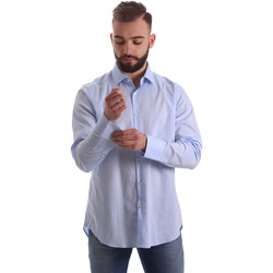 Textil Homem Camisas mangas comprida Gmf 962111/21 Azul
