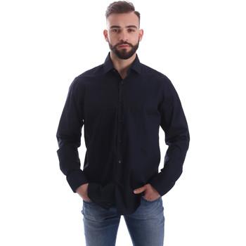 Textil Homem Camisas mangas comprida Gmf 962250/01 Azul