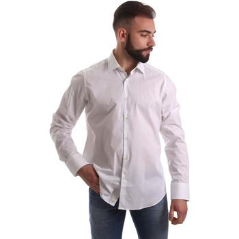 Textil Homem Camisas mangas comprida Gmf 962250/03 Branco
