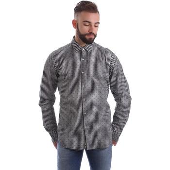 Textil Homem Camisas mangas comprida Gmf 962169/04 Preto