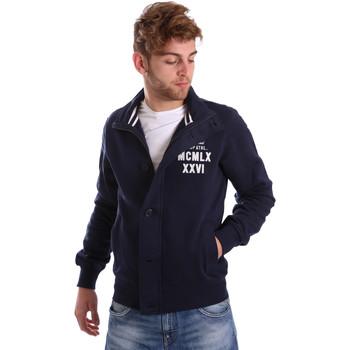 Textil Homem Jaquetas Key Up FGS7 0001 Azul
