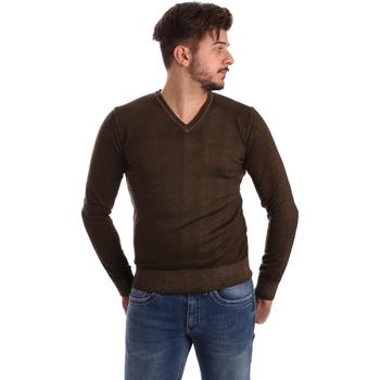 Textil Homem camisolas Wool&co WO0002 Castanho