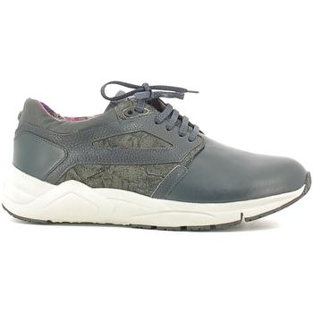 Sapatos Homem Sapatilhas Alberto Guardiani SU73452D Azul