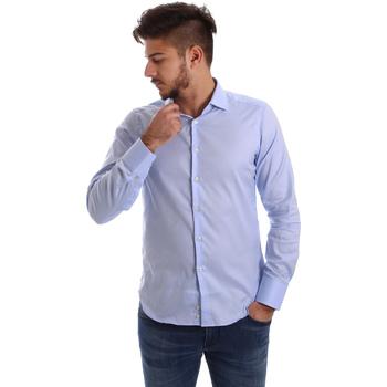 Textil Homem Camisas mangas comprida Gmf 962103/03 Azul