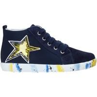 Sapatos Rapaz Sapatilhas de cano-alto Falcotto 2013554-01-1C49 Azul