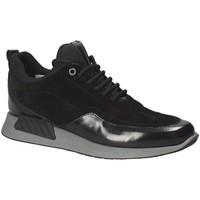 Sapatos Homem Sapatilhas Exton 162 Preto