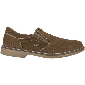 Sapatos Homem Mocassins Enval 7884 Castanho