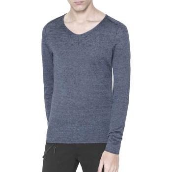 Textil Homem camisolas Antony Morato MMSW00639 YA500041 Azul