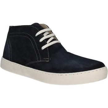 Sapatos Homem Sapatilhas de cano-alto Café Noir XN601 Azul