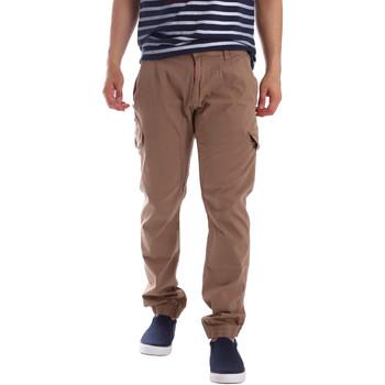 Textil Homem Calça com bolsos Gaudi 71BU25013 Bege