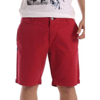 Textil Homem Shorts / Bermudas Gaudi 71BU25028 Vermelho