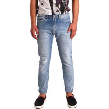 Textil Homem Calças de ganga slim Tommy Hilfiger DM0DM02107 Azul